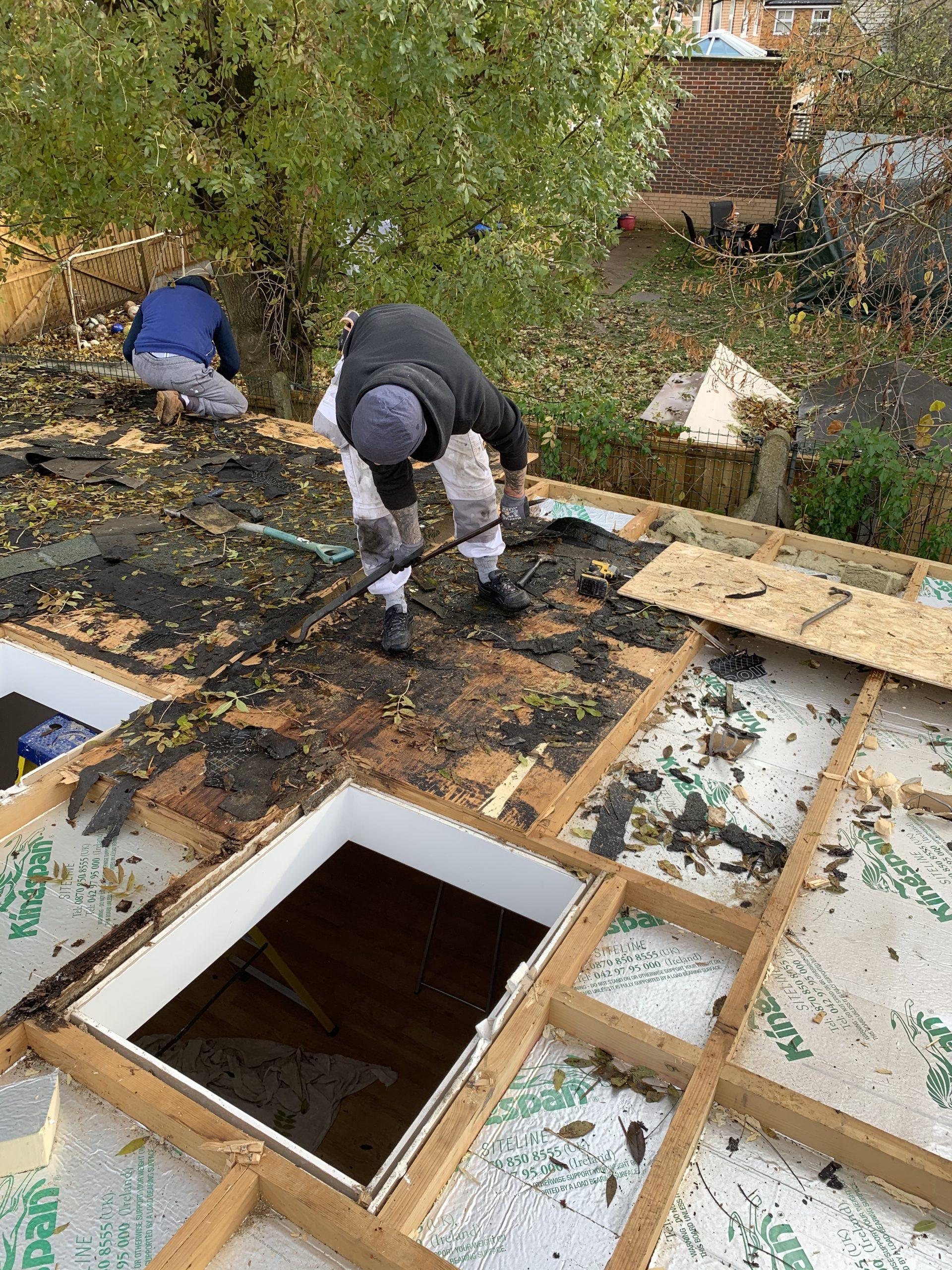 Flat roof refurbishment Kingston - Kondracki Construction